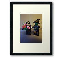 Undead Romance Framed Print