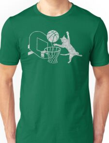 Slam Puss (Grey) Unisex T-Shirt