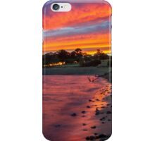 Tallangatta sunrise iPhone Case/Skin