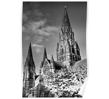 Spooky St Mary's ~ Infra Red  ~ Poster