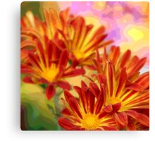 Floral Pop Canvas Print