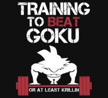 Training to Beat Goku - Goku Black by mluata