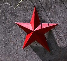 Red star by Tony Roddam