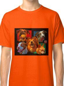 Dog Art Comp 0001 Classic T-Shirt