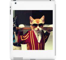 Cool Cat iPad Case/Skin
