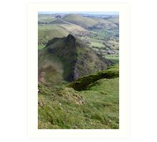 Parkhouse from Chrome Hill #1 Art Print