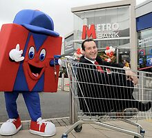 Craig Donaldson, CEO of Metro Bank uk by jon  daly