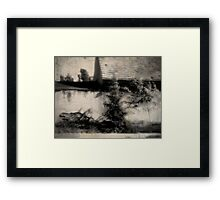 Bring back fond memories of the happy days gone by Framed Print
