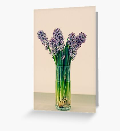 Beautiful scent. Greeting Card