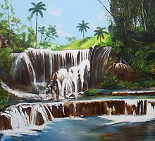 Leaping Waterfall by Dominica Alcantara