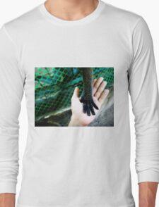 hands reaching out Long Sleeve T-Shirt