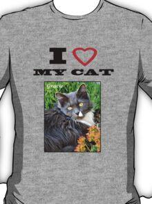 I LOVE MY CAT - Gracie T-Shirt