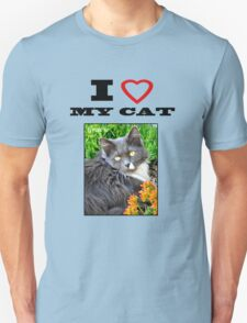 I LOVE MY CAT - Gracie Unisex T-Shirt