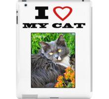 I LOVE MY CAT - Gracie iPad Case/Skin
