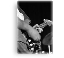 "A Guitar With Soul - Friends Band ""Melodicious"" Canvas Print"