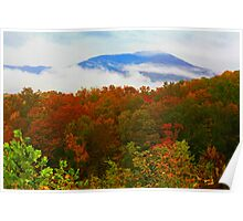 AUTUMN,MT. LECONTE Poster