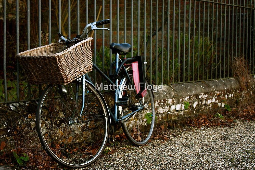Bicycle - Bishop's Walk Salisbury by Matthew Floyd