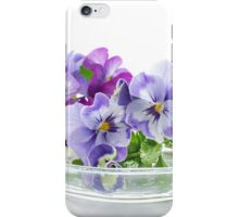 pansy 02 iPhone Case/Skin