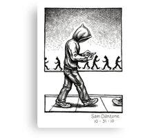 Sleeper Cell... Canvas Print