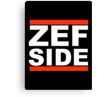Zef Side Canvas Print
