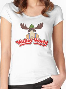 Walley World Women's Fitted Scoop T-Shirt
