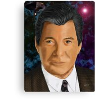 William Shatner Canvas Print