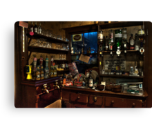 The bar..! Canvas Print