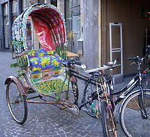 Rickshaw in Leuven by Anita57