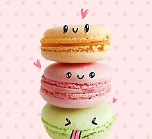 Funny Macarons by Anna Alekseeva