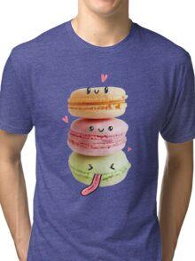 Funny Macarons Tri-blend T-Shirt