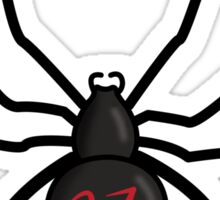 Lucky Number Black Widow Sticker