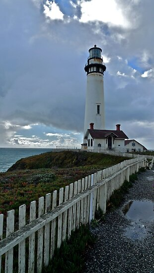 Lighthouse, South of Half Moon Bay, CA by Scott Johnson