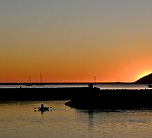 Sunset, Pillar Point Harbor, CA by Scott Johnson