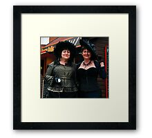 The Goth Weekend at Whitby, Oct 2010. 21 Framed Print