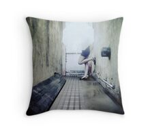 Can't Stop the Rain from Falling Throw Pillow