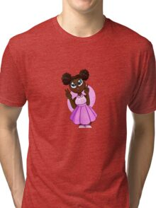 Black Barbie Tri-blend T-Shirt