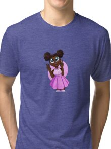 Black Barbie Tri-blend T-Shirt