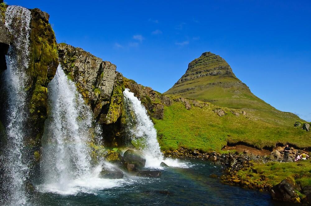 Kirkjufellsfoss and Kirkjufell by Ólafur Már Sigurðsson