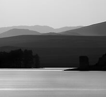 Lochindorb - Castle In the Dusk by Kevin Skinner