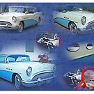 Buick 54 collage by Paola Svensson