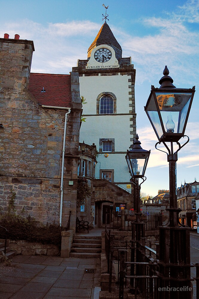 The Jubilee clock tower - Queensferry by embracelife