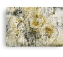 Black Pigment And Coffee Canvas Print