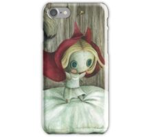 Dafne the ragdoll - Red Riding Hood iPhone Case/Skin