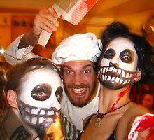 Halloween Carnage by SpiralPrints