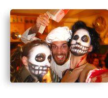 Halloween Carnage Canvas Print