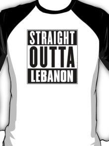 Straight outta Lebanon! T-Shirt