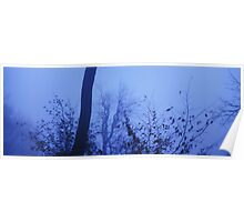 Blue, foggy nightfall 2 Poster