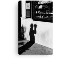 Shadows  Canvas Print