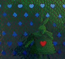 Rabbit Topiary (Sold Ebay) by Donna Huntriss