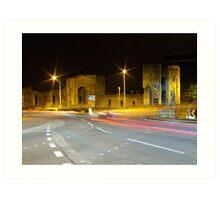 Newport Castle, Wales Art Print